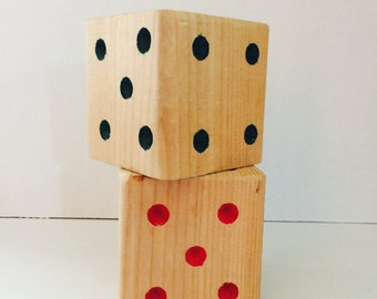 Extra Large Wooden Dice