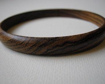 Skinny Bocote Bangle Bracelet