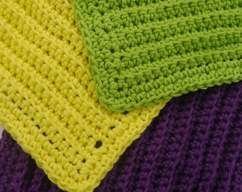 Face Cloth in pure cotton available in 12 colors