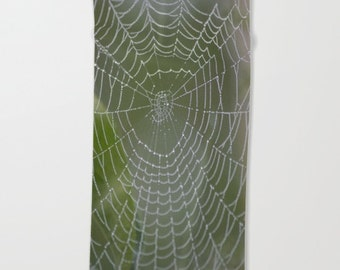 Spiderweb With Raindrops Luxury Beach Towel Oversized Super Soft Microfiber Unique Gift Idea