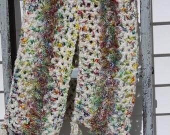 Rainbow Cozy Scarf