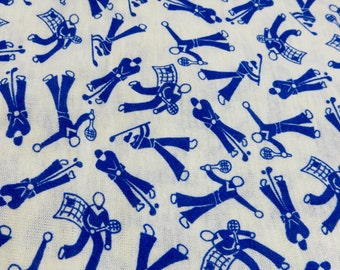Golf Fabric By The Yard Etsy
