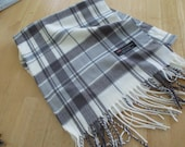 CASHMERE SCARF  /  100 %  cashmere  12 by 72 long  Just reduced was 15.00 now 12.00
