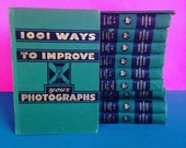 The Complete Photographer An Encyclopedia of Photography Set of Vintage Books - Awesome Black & White Photographs and Tips