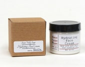 Hydrating Face Cream, Sensitive, Dry, Normal Skin Mouisturizer, Natural