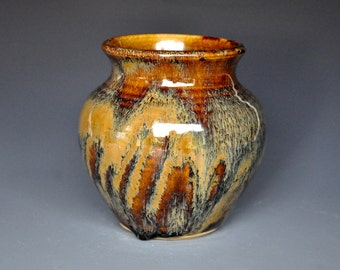 Small Pottery Flower Vase Handmade A