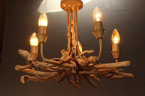 Driftwood Chandelier Driftwood Pendant Driftwood Light