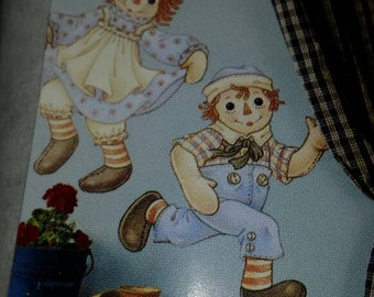 Wall Decals Raggedy Ann and Andy