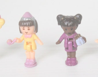 Polly Pocket Figures from Polly Pocket Bay Window '93