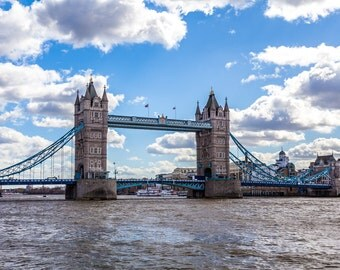 Tower Bridge and the River Thames photography