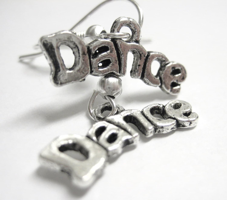 Hip Hop Earrings: Dance Jewelry Hip Hop Love To Dance Earrings Dance Teacher