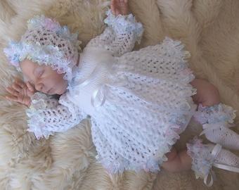 Knitting pattern for reborn dolls 16 - 20 inch