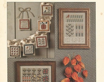 "Cinnamon Heart Needleworks ""Indian Summer"" Cross Stitch Leaflet  CLEARANCE ITEM"