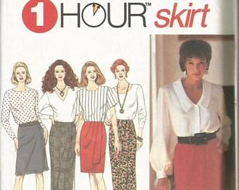 Simplicity 8746 1 Hour Skirt Pattern SZ 8-10.