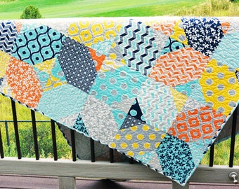 Contemporary Quilts-Handmade-Modern Quilts-Heirloom
