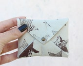 Printed Wallet, Credit Card Holder, Printed Case Wallet, leather wallet, business card holder, Women Wallet, hearts, star,strip wallet, Gift