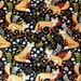 Fox Fabric Sly as a Fox Cotton Fabric Material with  Foxes Cotton Classics