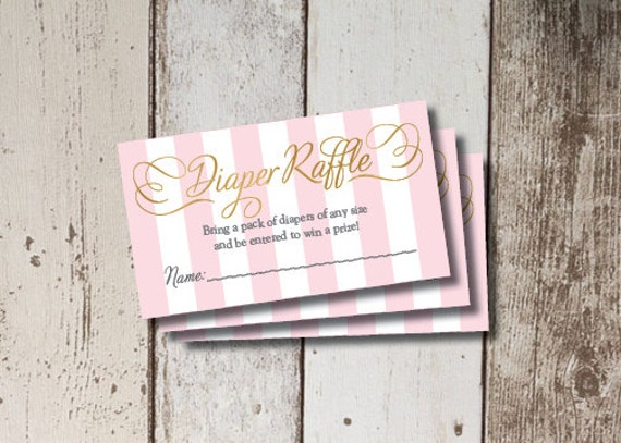 Digital Printable Sugar Amp Spice Baby Shower Diaper Raffle