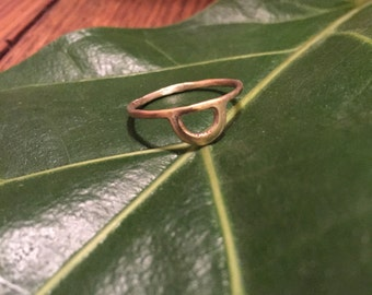 Golden Arc Ring