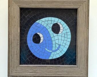 Happy Moon Mosaic