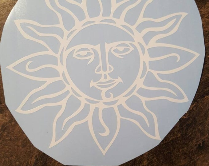 Sun Image Vinyl Decal Graphic Sticker