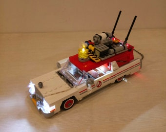 Light up kits for 75828 Ghostbusters Ecto-1 - (Car not included)