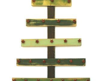 Christmas Advent Tree Jesse Tree Ornaments Christmas Countdown Advent Calendar Rustic Wood Tree Ornament Display Jesse Tree Stand Wooden