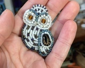 Snowy Owl Pin RESERVED