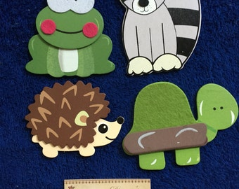 Woodland Animals Plug Outlet Socket Covers Forest Creatures Baby and Kids Room Decorations