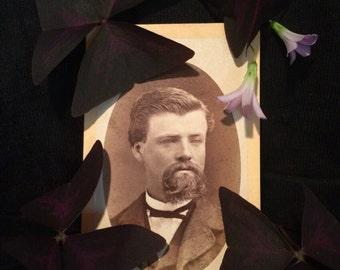 Cdv Antique Photo - Handsome Man of San Francisco - Civil War Era  - Early California