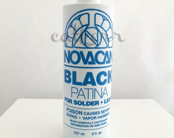 Novacan Black Patina 8oz