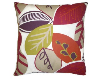 "Red Pillow Designer Cushion Cover Throw Scatter Pillow. ONE x 16"" (40cm) choices of color"
