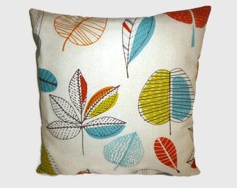 "Orange Pillow Cushion Cover 4 CHOICES Mix Match Designer Orange Accent Slip Scatter ONE 16"" (40cm)"