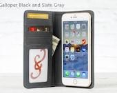 Bella Fino Case for iPhone 7 Plus - Galloper and Slate Gray