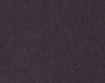 "Felt Sheet 8""x12"" 1mm Thick, 100% Merino Wool, Charcoal"