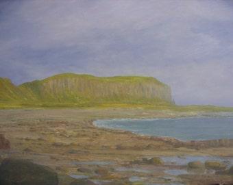 Isle of Arran  Drumadoon Point     Blackwaterfoot      original oil painting