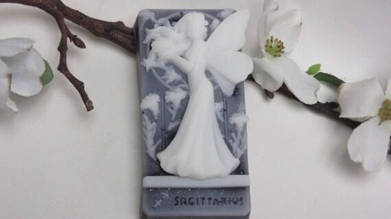 Sagittarius zodiac fairy soap glycerin soap scented in lavender