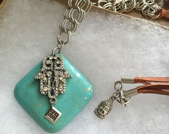 SALE! Hamsa's Protection Necklace