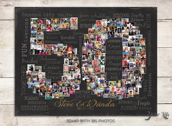 50th Wedding Anniversary Gift Ideas For Wife: 50th Wedding Anniversary Gift 50th Birthday Decoration