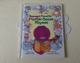 Chidren's Book: Barney's Favorite Mother Goose Rhymes, 1993