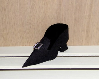 Paper Shoe Party Favor, Wicked Witch Paper Shoe Favor Box