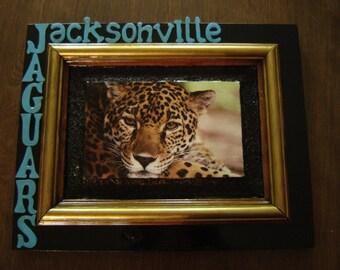 Jacksonville Jaguars Football Team Sports Plaque
