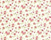 Windermere - Floral Songbird in Linen White by Brenda Riddle for Moda Fabrics
