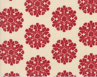 Madame Rouge - Soleil in Pearl Rouge by French General for Moda Fabrics