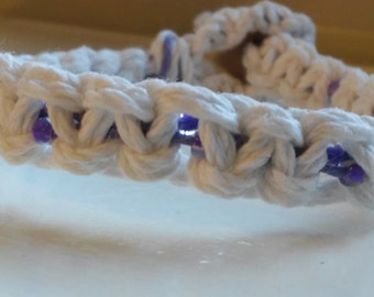 Hemp bracelet/macrame/macrame bracelet