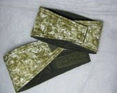 Male Dog Belly Bands Waist 15.00 x 4.00 Fits 13.00 to 17.00 inches Wraps by Sew Dog Diapers Quilted Padded Belt BellyBand # 992 GREEN