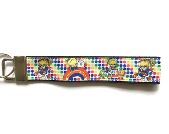 Rainbow Brite Super Cute Fob Wristlet Moving In Gift