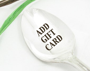 Add Gift Wrap and a Gift Card to Your Order