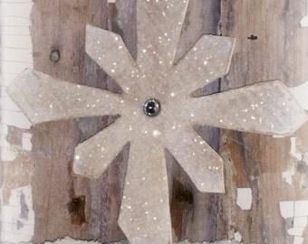 Norwegian Style Rustic Farmhouse Snowflake