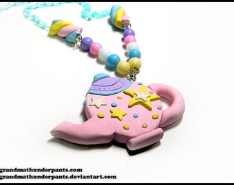 Starry Tea Time Necklace